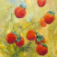 Persimmons by Sandra Rubin