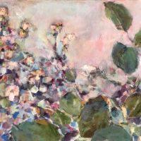 Flowering Blackberry by Sandra Rubin