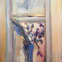 Bouguet in the Window by Sandra Rubin