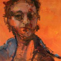 portrait by Sandra Rubin