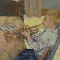 Artist as a Young Man by Sandra Rubin