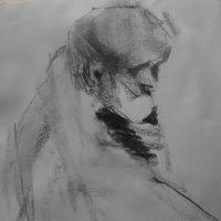 Pensive by Sandra Rubin