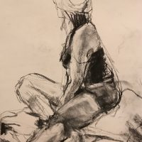 Looking Out by Sandra Rubin