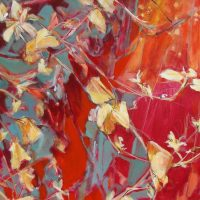 Leaves and Flowers - Sandra Rubin