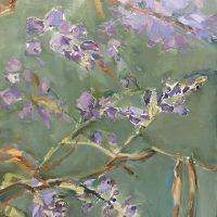 Spring Wisteria - by Sandra Rubin