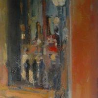 Night in the City by Sandra Rubin