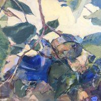 Arrangement of Leaves by Sandra Rubin